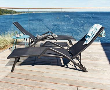 excellent ligstoel nordstrand x with opvouwbare ligstoel