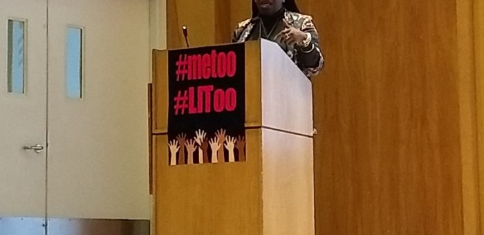 Tarana Burke: Continuing the #metoo Conversation