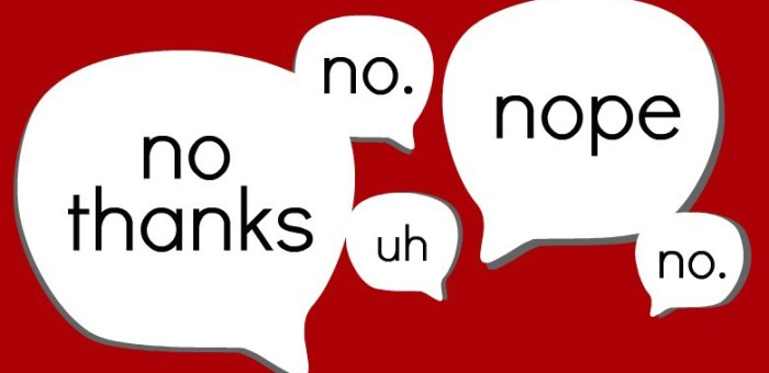 "How Saying ""No"" Has Made Me Successful"