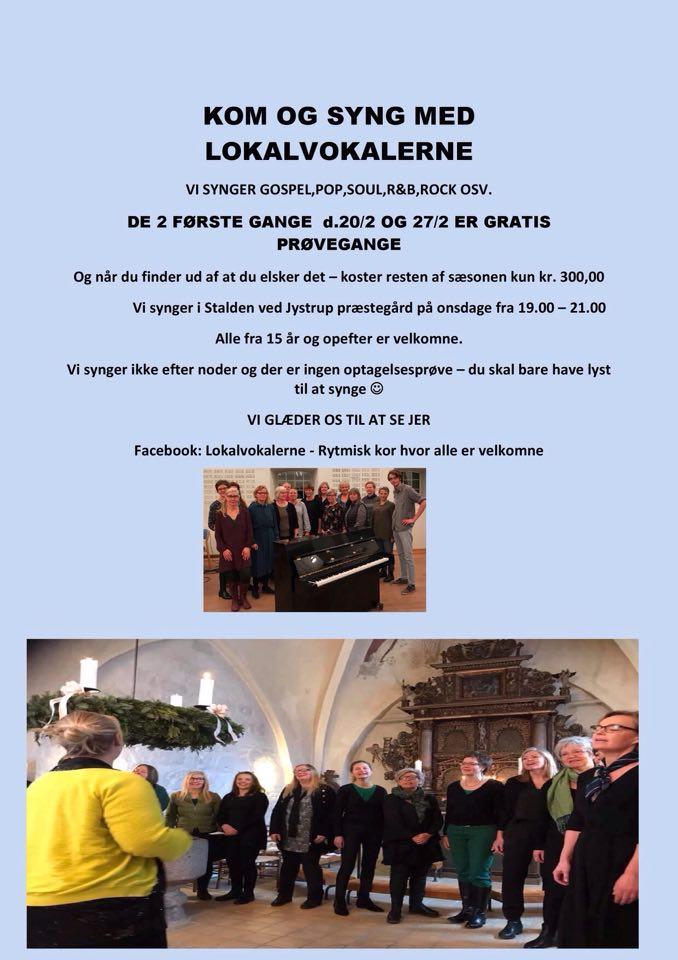 Lokalvokalerne i Jystrup