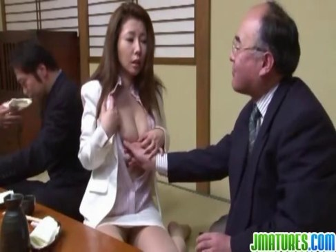 性接待を要求され受け入れる四十路熟女OLが巨乳やおまんこを犯される日活 無料yu-tyubu無料