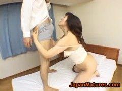チンポに飢えていた五十路美熟女のjyukujo動画