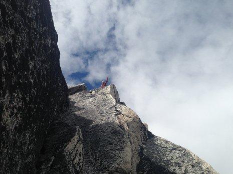 North Summit of Bugaboo Spire.
