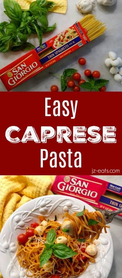 Caprese Pasta