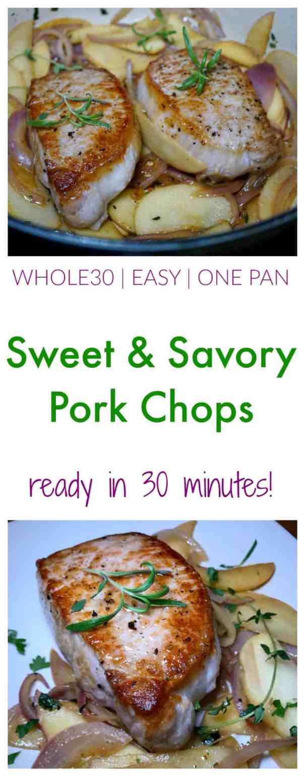 Whole30 Sweet And Savory Pork Chops