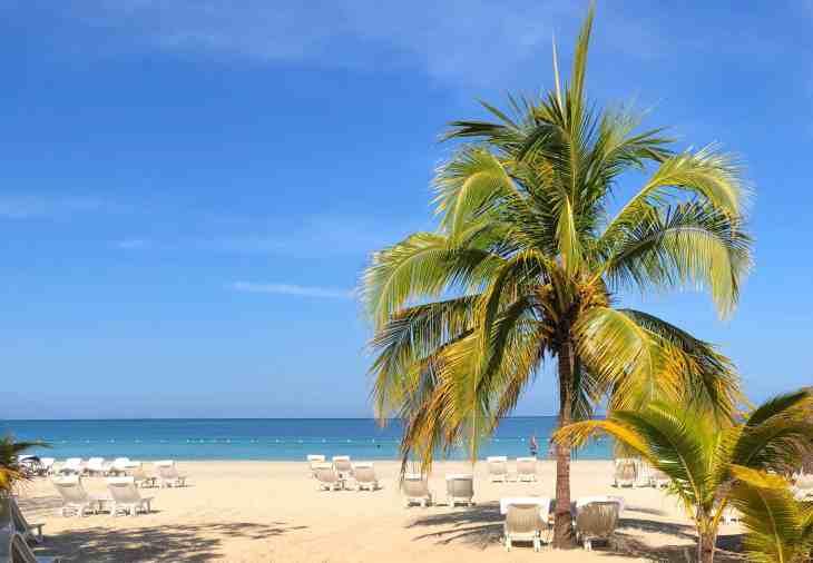 7 Mile Beach in Negril Jamaica