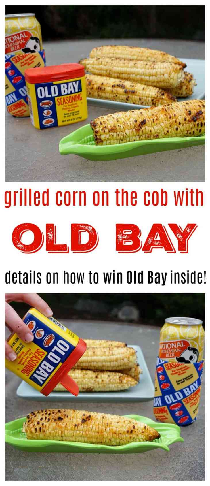 Grilled Corn On The Cob With Old Bay pin