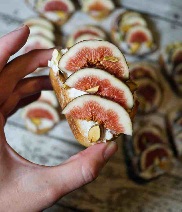 Fig season comes and goes quickly, and you might be wondering what to do with figs. One of the best ways to enjoy them is with this Fig and Honey Goat Cheese Toast recipe!