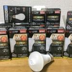 自宅の電球をすべて人感センサー付きに交換した