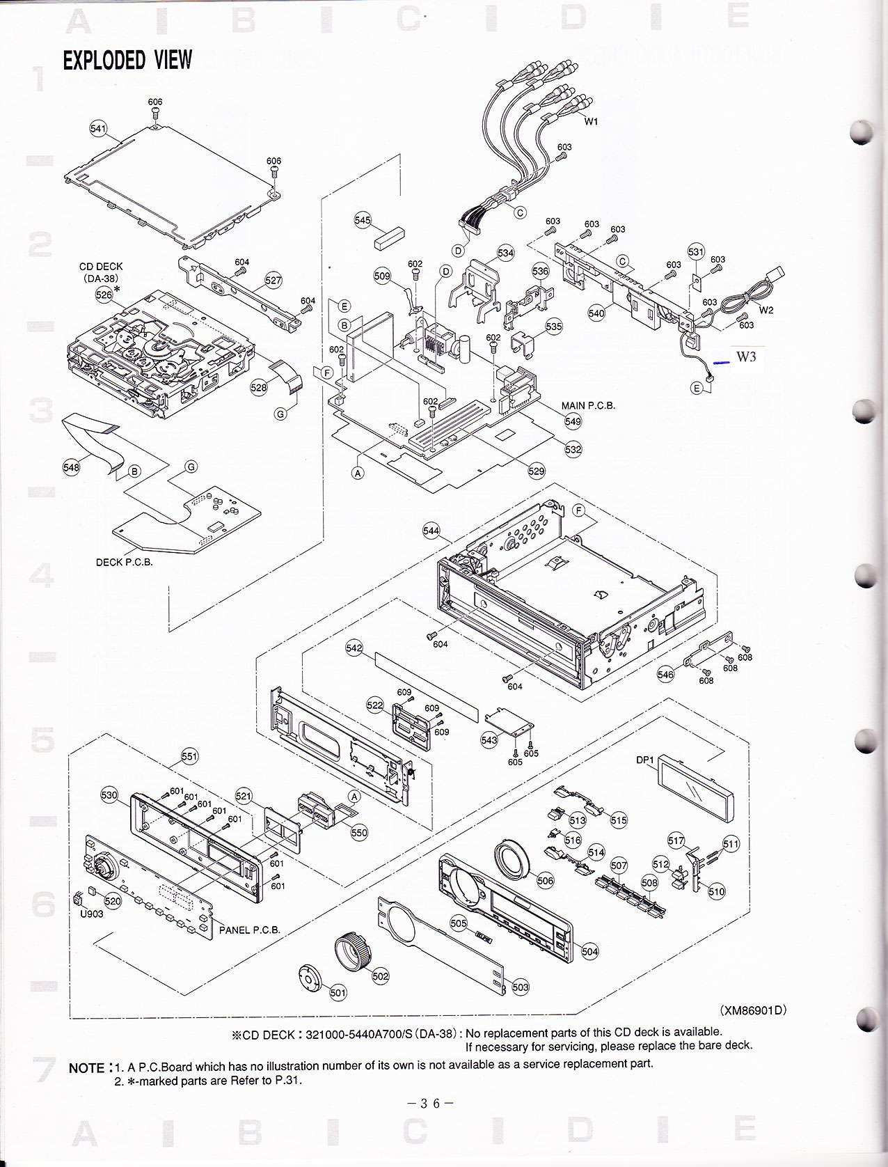 need service manual for Eclipse CD7200 MkII (component