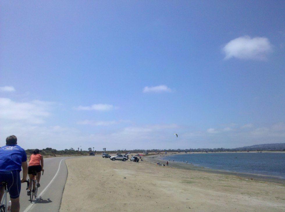 Fiesta Island laps
