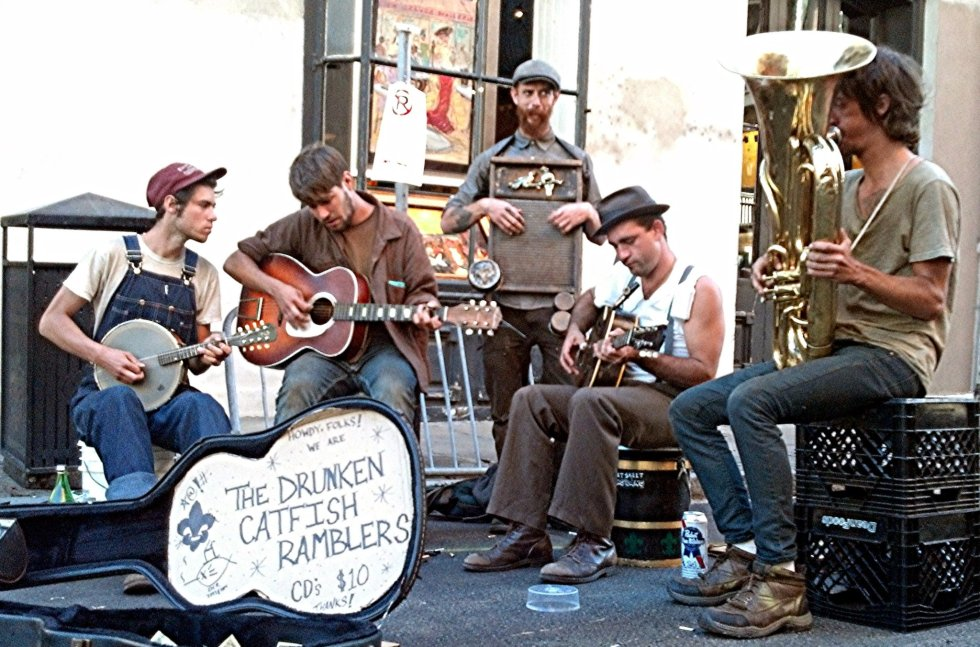 New Orleans street music!