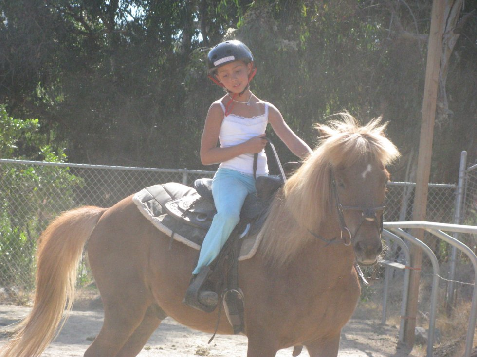 Girl Scouts Riding at the Rescue Ranch