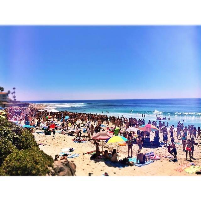 PB summers SD, Law St Beach