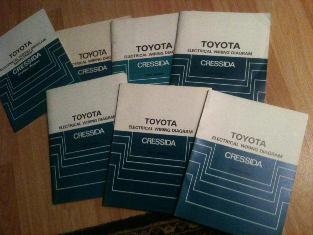 medium resolution of super easy to find 1982 1988 toyota cressida wiring diagram soft covers