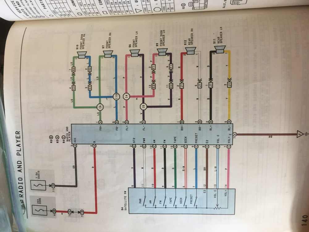medium resolution of toyota x chassis workshop manual and wiring guide motherload toyota mark 2 jzx90 wiring diagram