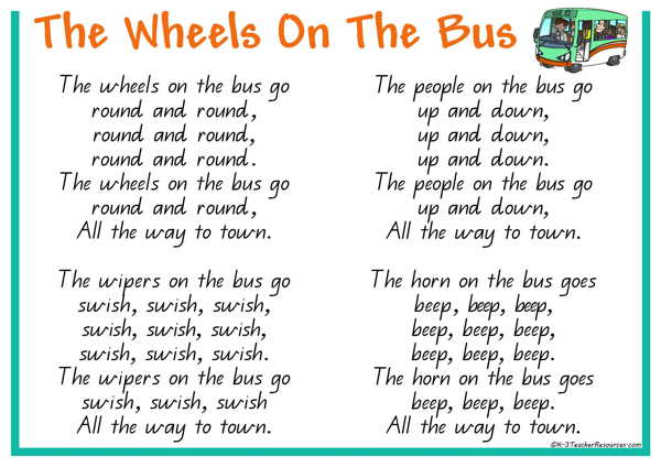 Wheels Bus Printables