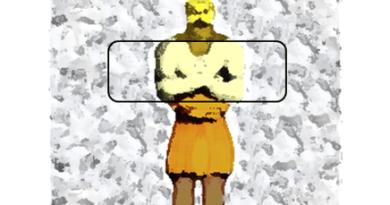 Statue de Nebucadnestar : le ventre.