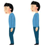 姿勢の問題