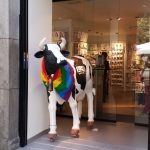 K in Motion Travel Blog. Shenanigans in Sunny Spain. Proud Cow in Madrid