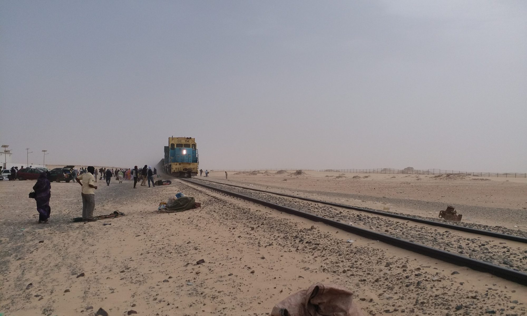The Iron Train, Nouadhibou, Mauritania