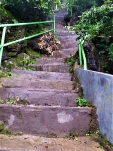 K in Motion Travel Blog. Natural Wonders of West Timor. Mount Fatuleu Hard Stairs