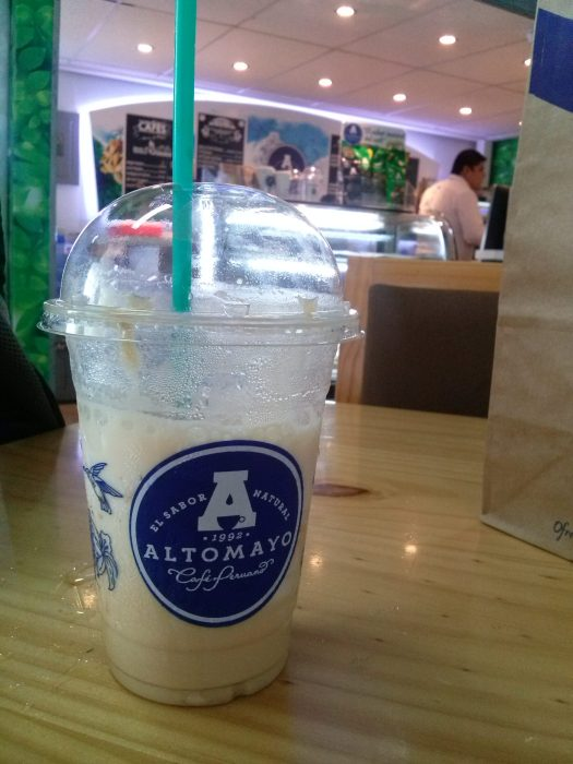 K In Motion Travel Blog. The Only Cafe in the Tiny Tumbes Airport, Peru