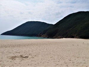 K in Motion Travel Blog. Hong Kong on a Budget. Secluded Beach