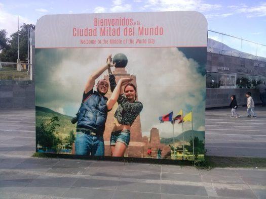 K in Motion Travel Blog. Ecuador - Journey to the Middle of the World. Mitad del Mundo, Quito, Ecuador