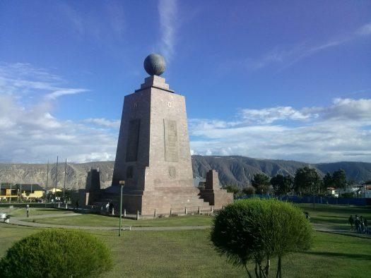 K in Motion Travel Blog. Monumento Mitad del Mundo, Quito, Ecuador