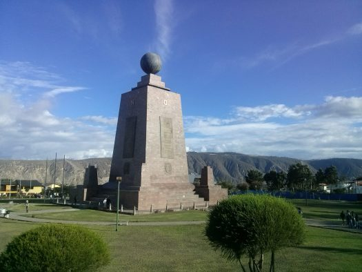 K in Motion Travel Blog. Ecuador - Journey to the Middle of the World. Monumento Mitad del Mundo, Quito, Ecuador
