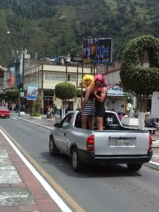 K in Motion Travel Blog. Baños - A Crazy Little Town in Ecuador. 2 Wandering Widows. Banos, Ecuador