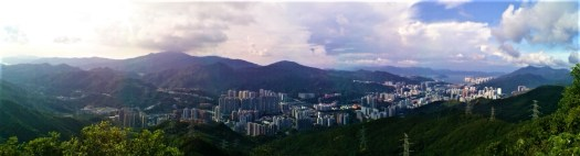 K in Motion Travel Blog. Hong Kong On A Budget. The New Territories From Lion Rock
