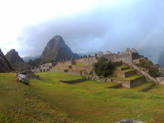 K in Motion Travel Blog. Adventures In Southern Peru. Machu Picchu, Rainbow to Ruins, in the Andes, Peru