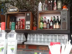 K in Motion Travel Blog. Adventures In Southern Peru. Quirky Hill Top Pub in Andean Mountain Town of Cusco, Cuzco Peru