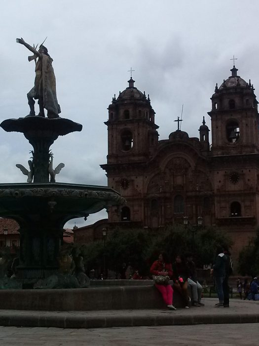 K in Motion Travel Blog. Adventures In Southern Peru. Colonial Building Andean Mountain Town of Cusco, Cuzco Peru