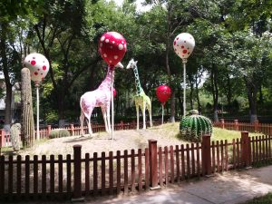 K in Motion Travel Blog. Journey to Kazakhstan Via Western China. Urumqi Children's Park