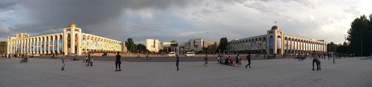 K in Motion Travel Blog. The Quirks of Eastern Kyrgyzstan. Bishkek City Centre