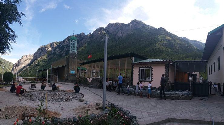 K in Motion Travel Blog. Silk Road to Western Kyrgyzstan. Pelmennaya