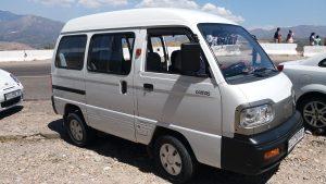 K in Motion Travel Blog. Underrated Uzbekistan. Zhuman's Car