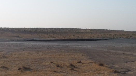 K in Motion Travel Blog. Travel to Turkmenistan - Frontier to Fire. Darvaza Gas Crater. Gate to Hell during the day