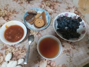 K in Motion Travel Blog. Things to Know About Uzbekistan. Tea, Biscuits and Fruit