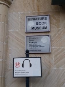 K in Motion Travel Blog. 9 Fun Things to do in Baku. Miniature Book Museum