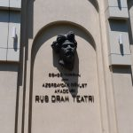 K in Motion Travel Blog. 9 Fun Things to do in Baku. Black Pop-out Head