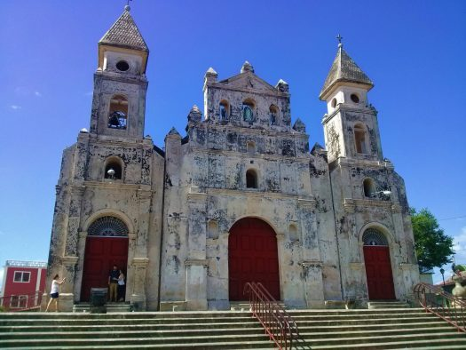 K in Motion Travel Blog. Love and Volcanoes in Nicaragua. Granada. Guadalupe Church