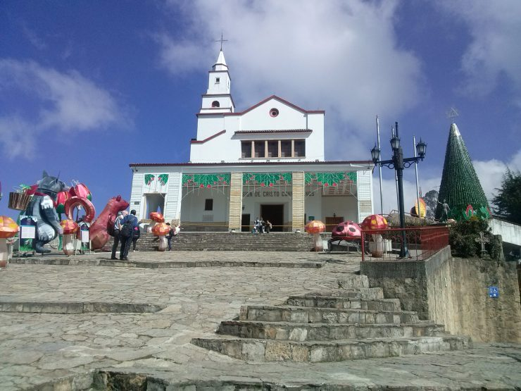 K in Motion Travel Blog. Contemporary Colombia and its Colourful Cities. El Señor Caído At the Top of Monserrate