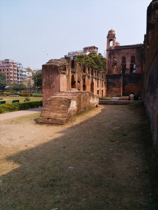 K in Motion Travel Blog. Hospitality in Bangladesh. Ruins in the Old City