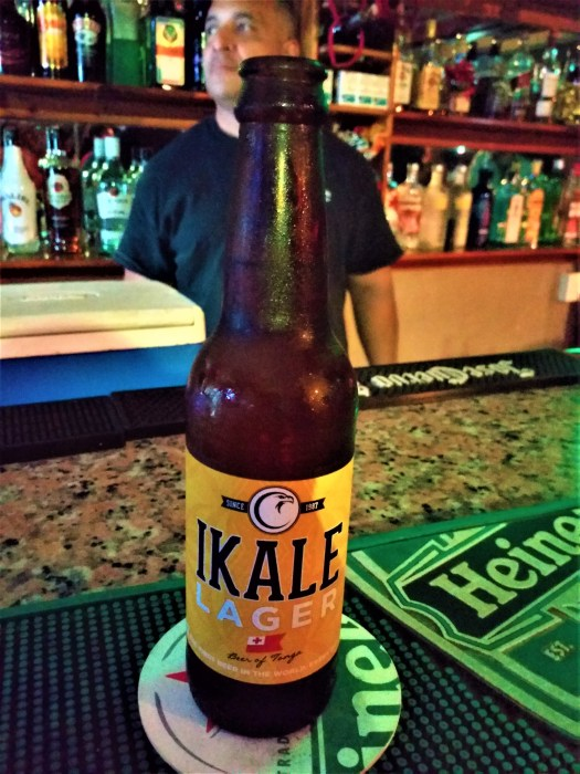 K in Motion Travel Blog. Tantalisingly Tropical Tonga. Local Beer