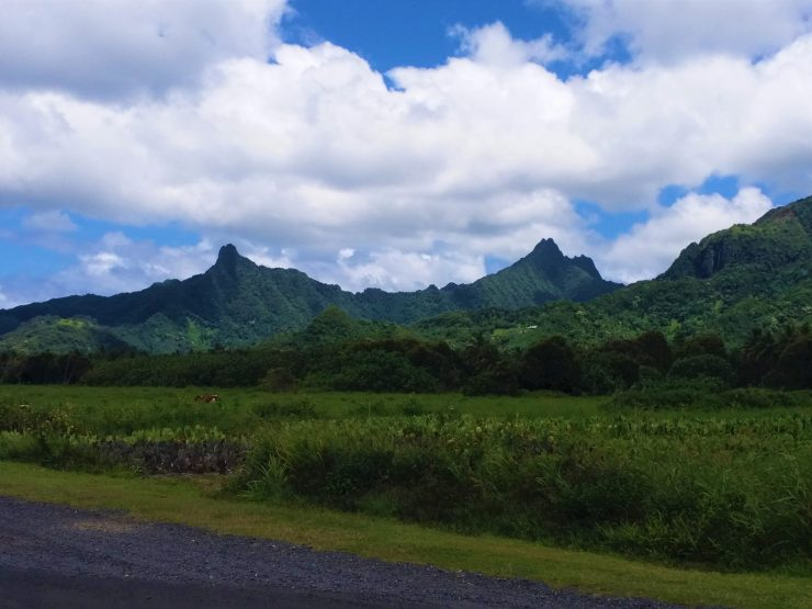K in Motion Travel Blog. The Captivating Cook Islands. Centre of Rarotonga