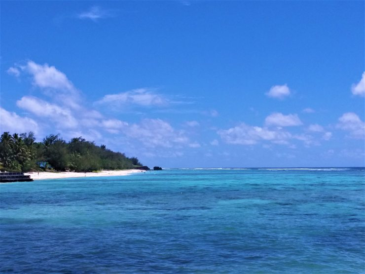 K in Motion Travel Blog. The Captivating Cook Islands. Rarotonga Coastal View